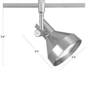 WAC Lighting HM1-738-DB Flexrail1 Line Voltage Trackhead