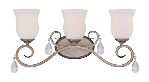 Designers Fountain 86003-ARS Gala 3 Light Bath (Light Bath Bar Drop)