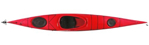 Boreal-Design-Sedna-PE-Rudder-Touring-Kayak-Red