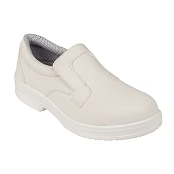 91448d2ef5 Lites Safety Footwear A801-37 Slip On, White: Amazon.co.uk: Business ...