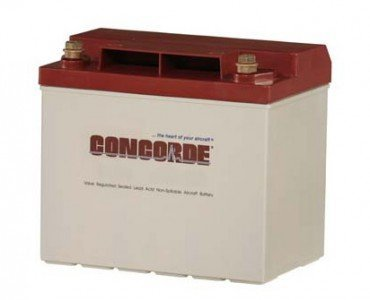 Concorde Aircraft - CONCORDE RG-25XC PLATINUM SERIES SEALED LEAD ACID AIRCRAFT BATTERY