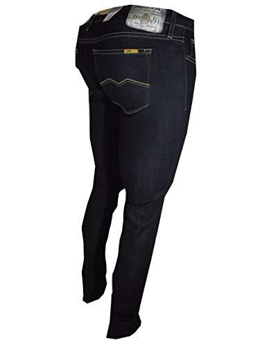 27 Pot Donna Jeans Mika Pantaloni Vita Meltin' 32 Da Skinny Bassa Denim Fit Blu Elasticizzati dAqOUI