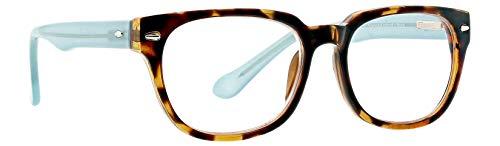 (Life is Good Unisex-Adult Twist LGTWIST0TORT0AR250 Rectangular Reading Glasses, Tortoise, 2.5)