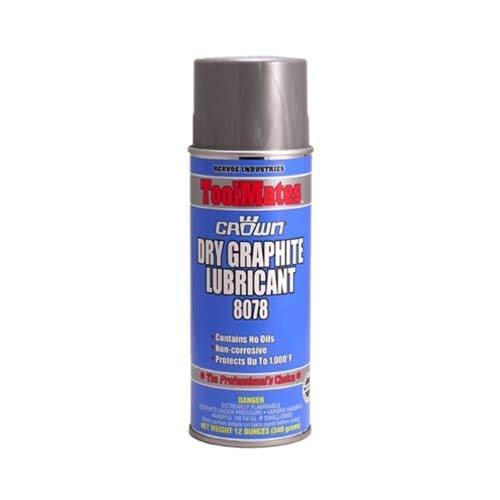 Aervoe 8078 12 oz Non-Corrosive Oil-Free Coating Dry Graphite Lubricant