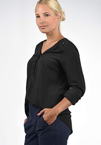 Vero Femme Chemisier Uni Noir Moda vr8v4UB