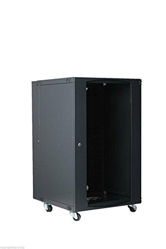 15U Wall Mount Network Server Cabinet Rack Enclosure Glass Door Lock (Server Rack Glass Door compare prices)