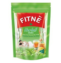 Fitne', Herbal Infusion, Herbal Drink, Green Tea Flavoured, 39.75 g [Pack of 1 piece]
