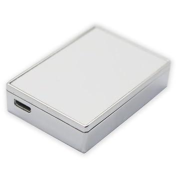 Sublimación Mechero USB - plata sin llavero L01: Amazon.es ...
