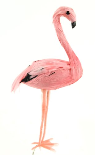 Touch-of-Nature-1-Piece-Feather-Flamingo-on-Wire-for-Arts-and-Crafts-6-Inch-Pink