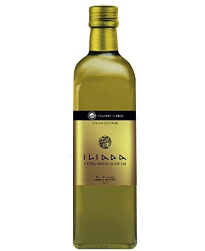 [Iliada Kalamata Extra Virgin Olive Oil, 500 ml] (Greek Extra Virgin Olive Oil)