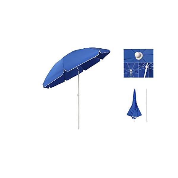 kit spiaggia ombrellone ponza + picchetto + set 2 borse termiche giostyle Fiesta 6/25 2 spesavip