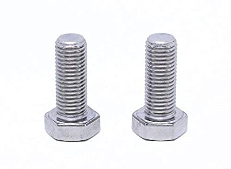 2pcs BelMetric M12X1.5X25 A2-70 Stainless Steel Corrosion Resistant Metric Fine Threaded Hex Tap Bolts DIN 961 for Automobiles Motorcycles and Watercraft Washers Included BR12X1.5X25SS