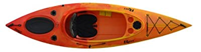 quest10HVyr Riot Kayaks Quest 10 HV Flatwater Day Touring Kayak, Yellow/Red by Kayak Distribution