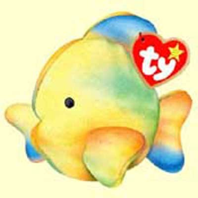 53923acdf89 Coral the Tie-Dyed Fish - McDonald s Ty Teenie Beanie - 2000  14