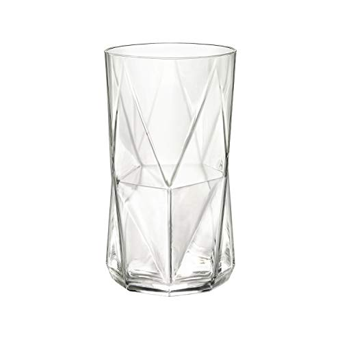 Glass Rocco Glass Highball Bormioli - Bormioli Rocco Cassiopea 16.25 oz. Cooler Glass, Set of 4