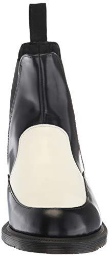 Martens Black Donna Dr White Stivali zpx7qp4