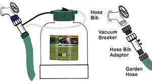B06WWQDMHB EZ-FLO 2020-HB 2 Gallon Low Pressure Hose Bib and Drip Connection Fertilizer Injector System (7.5 Liter) 41sa9q0dn-L.