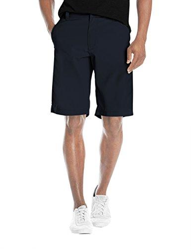 Agile Mens Super Comfy Flex Waist Cargo Shorts ASH45181 Navy 30