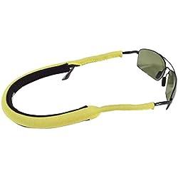 Croakies Stealth Floater Eyewear Retainers, Yellow