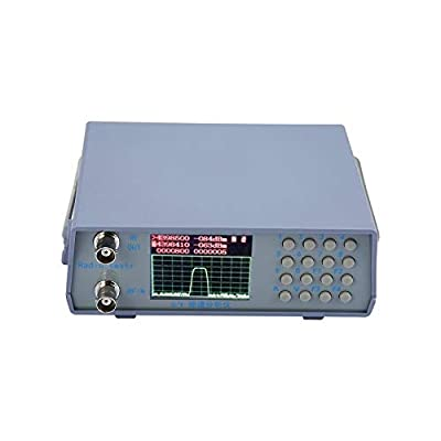 Pudincoco U/V UHF VHF Dual Band Spectrum Analyzer with Tracking Source Tuning Duplexer(Light Blue)