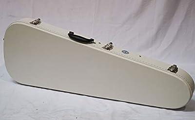 Allen Eden White Hard Shell Electric Guitar Case for Strat & Tele Guitars