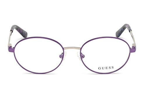 cfd84ac479311 Guess Lunettes de vue pour femme Violet GU 2713 081 52 17  Amazon.fr ...