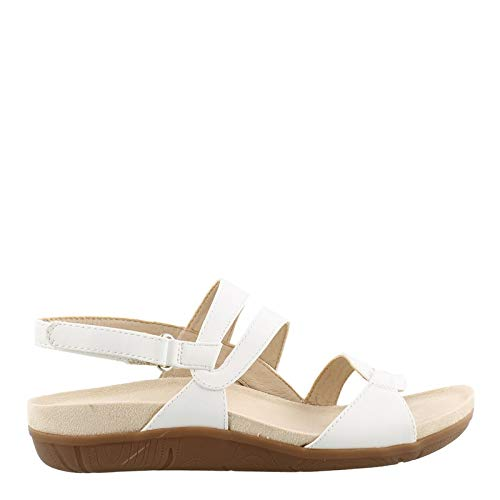 BareTraps Women's, Jenifer Sandals White 11 M