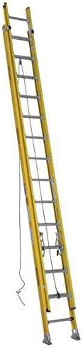 Werner Extension Ladder, Fiberglass, 28 ft, Type IAA