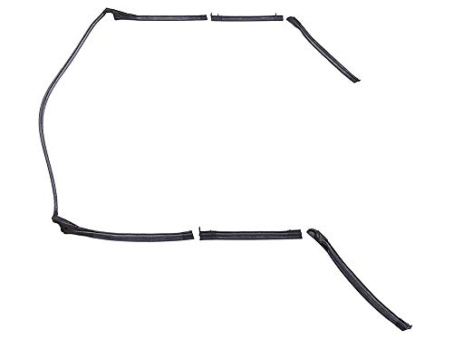 New 1968-69 Ford Fairlane Torino Montego 500 GT MX 5-Piece Seals Header Bow Convertible Top Weatherstrip (C8OZ-7653986)