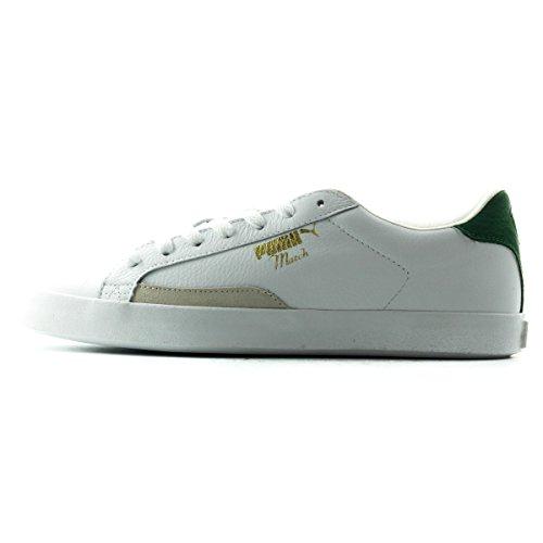 Puma Match Vulc Men's Retro Tennis Sneakers Shoes White Size 10.5