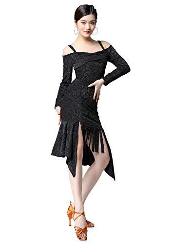 HIHCBF Women Long Sleeve Praise Dress Liturgical Metallic Waistband Full Length Wide Swing Loose Fit Worship Dancewear