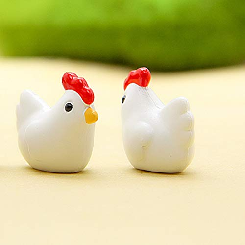 Terrarium Supplies - Micro Chicken Eggs 1pc Set Mini Flatback Resine Craft  Figurines Miniature Garden Decor Bonsai - Supplies Landscape Snake Dragon