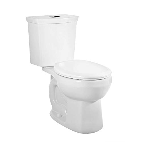 American Standard 2889218.020 H2Option Siphonic Dual Flush Normal Height Round