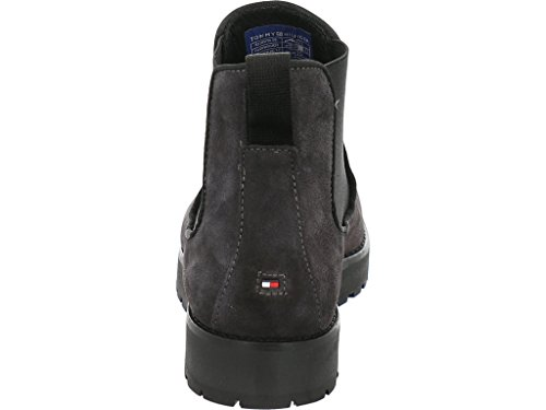 Women's Grey Fw0fw01828 Hilfiger Tommy Boots qOTF55C