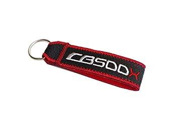 Moto Discovery CB500X cordón Llavero Doble Cara