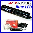 BRAND NEW APEXi Turbo Timer for NA & Turbo Black color with Blue LED display Universal Fit Made in Japan