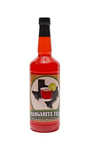 - Margarita Texas Strawberry Mix (32oz) - No High Fructose Corn Syrup