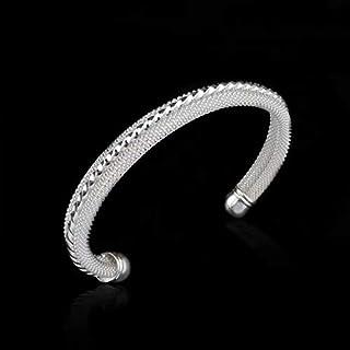 Armreif Armband massivem Sterling Silber 925 versilbert