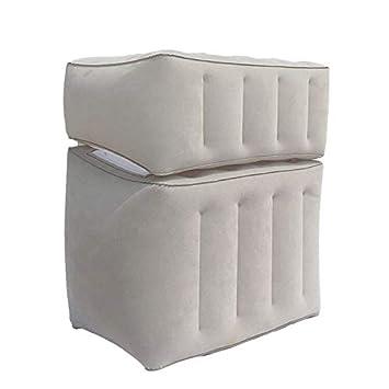 Amazon.com: Almohada hinchable de viaje Warmmie - con bolsa ...