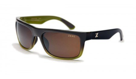 Zeal Optics Unisex Essential Polarized Brown + Olive W / Copper Polarized Lens - Website Sunglasses O