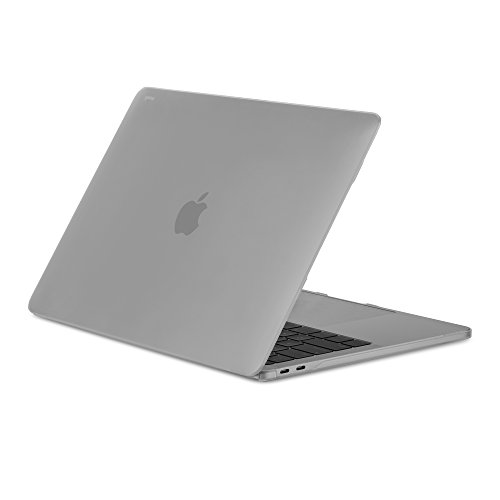 Moshi 99MO071907 iGlaze Hard Case for New 2018 MacBook Pro 13 with Thunderbolt 3/USB-C (NOT for MacBook pro 13 2012-2015 Retina)- Stealth Clear ()