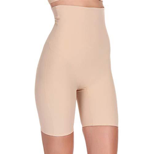 Fianmy Women's Shapewear High Waist Seamless Body Shaper Butt Lifter Panty Tummy Control Thigh Slimmer (XX-Large, Beige)