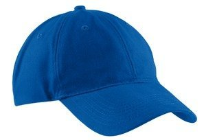 Port & Company Brushed Twill, Low Profile Cap, Royal