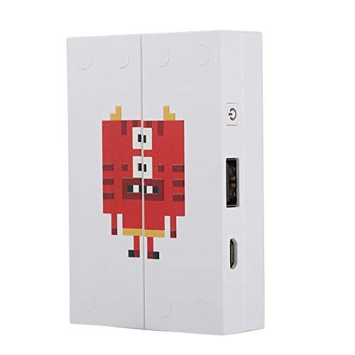 Snel opladende powerbank, 3500 mAh ABS-materiaal Mobile Power, minipixels voor bedrijven