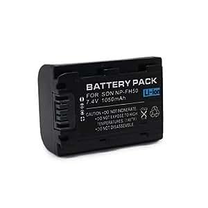 Ss - - NP-FH50 - Li-Ion - Batería para videocámara Sony DCR-DVD108 DCR-DVD308