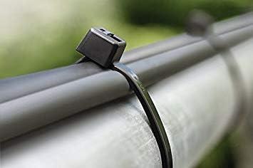 Poignée support naturellement dhurcs 4-01 colliers de serrage polyamide