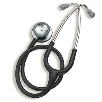 Preston - Adult, Black (For 3M Littmann Classic II S.E. Stethoscope )