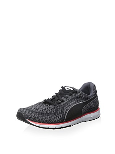 Puma Mujeres Naritav3knitwns Running Periscopio De Zapatos / Negro / Negro