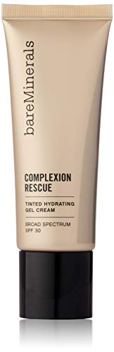bareMinerals Complexion Rescue Tinted Hydrating Gel Cream SPF 30, Desert 6.5, 1.18 Ounce