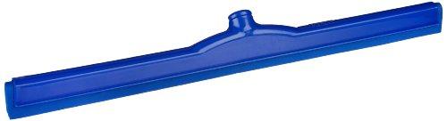Carlisle 4156814 Spectrum Double Foam Rubber Hygienic Floor Squeegee, 24'' Width, Blue (Case of 6) by Carlisle (Image #1)